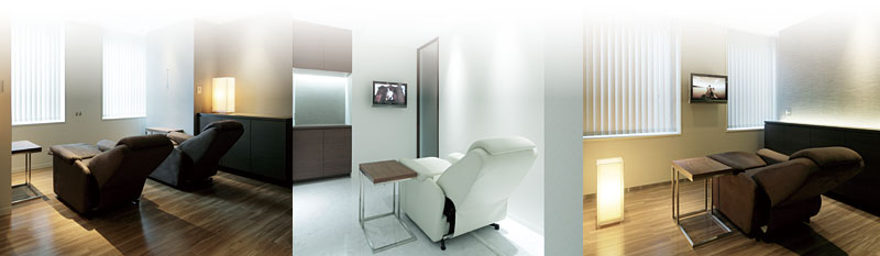 上質な「個室」空間でゆったり寛ぐ